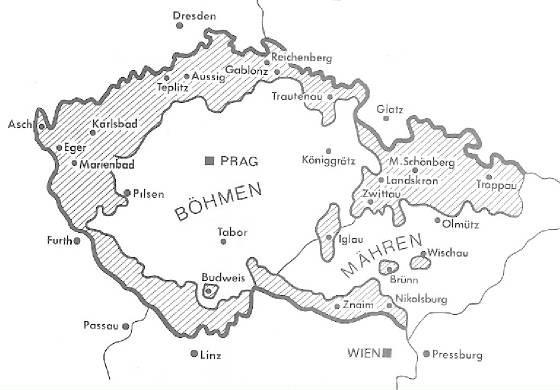Das Münchener Abkommen von 1938