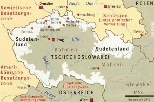 sudetenland-karte-232227705, 10, 2021