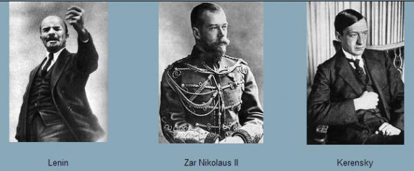 lenin-kerensky-zar-nikolaus-ii-242519905, 10, 2021