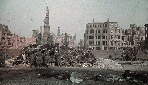 Dresden Feuersturm 13./14. Februar 1945: Die Nacht als Bomben und Phosphor vom Himmel fielen