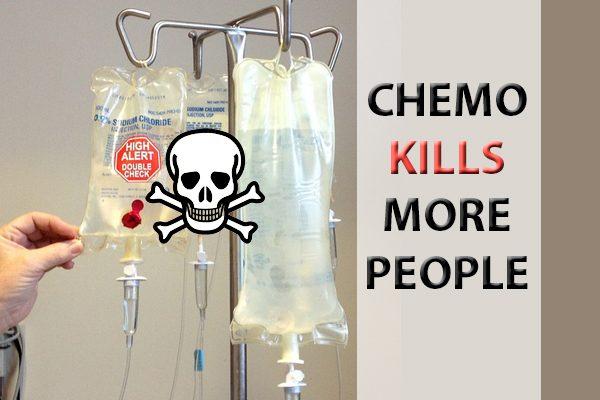 Menschen sterben nicht wegen Krebs - sondern an der Chemotherapie!