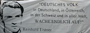 Wenn auch nur ein Deutscher zur Besinnung kommt und den Weg zur Wahrheit findet, dann war mein Opfer nicht vergebens!