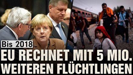Fast sechs Millionen Flüchtlinge wollen nach Europa!