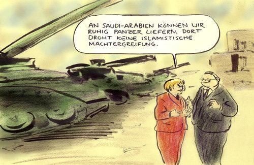 Wie Deutschland an Kriegen verdient und arabische Diktaturen stärkt