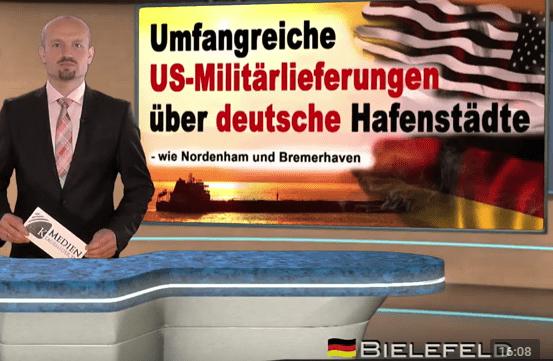 Umfangreiche US-Militärlieferungen über deutsche Hafenstädte