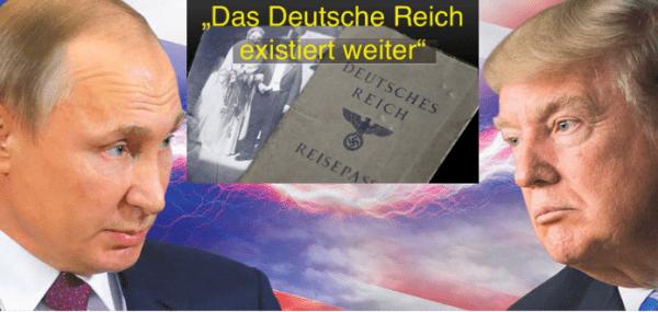 Wir verlangen die vollständige Herstellung des Deutschen Reiches!