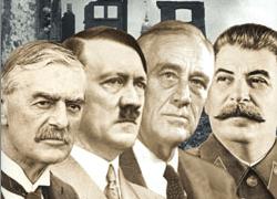 chamberlain-hitler-roosevelt-stalin-882659105, 10, 2021
