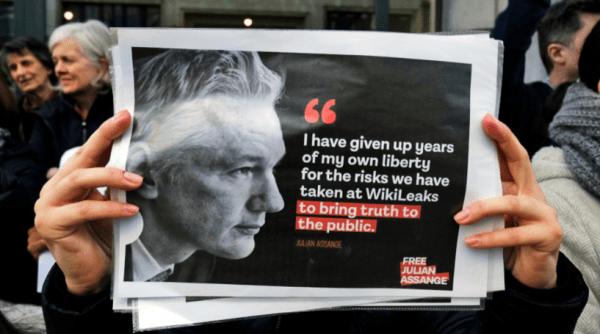 WikiLeaks-Gründer Julian Assange ist das erste Opfer der Pressefreiheit
