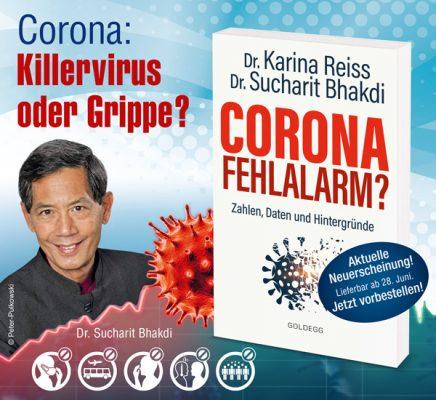 """Prof. Dr. Sucharit Bhakdi: Sein Buch """"Corona Fehlalarm?"""" wird zum Bestseller!"""