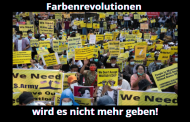 Farbenrevolutionen wird es nicht mehr geben