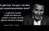 Das verachtete und verlassene Europa